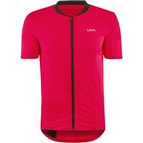 UYN Activyon MTB OW Maglietta Con Zip Intera Uomo, red